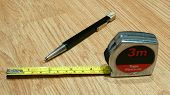 Measure Tape & Pen