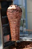picture of gyro  - Traditional Turkish food  - JPG