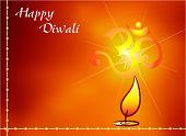 Aum The Holy Motif Diwali Design