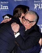SANTA BARBARA - FEB 6:  Martin Scorsese, Leonardo DiCpario at the Santa Barbara International Film Festival Honors Scorsese & DiCaprio at Arlington Theater on February 6, 2014 in Santa Barbara, CA