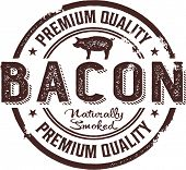 Vintage Style Premium Bacon Sign
