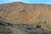 Trekkers Reaching To Setti Fatma