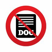 No File document icon. Download doc button.