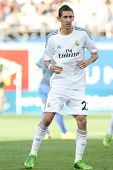LOS ANGELES - AUGUST 3: Real Madrid F Angel Di Maria during the 2013 Guinness International Champion