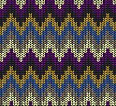 Color Knitted Wool Background