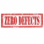 Zero Defects-stamp