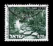 Creek Tel Dan, Landscapes Of Israel