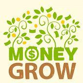 Text Money Grow