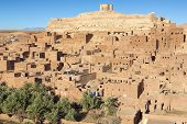 Famous ancient village of Ait Benhaddou in Morocco