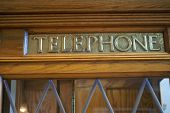 Old Fashion Telephone Booth