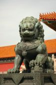 Forbidden City Lion.