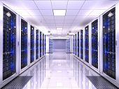 stock photo of hardware  - Server room - JPG