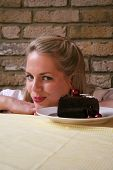 Chocolate Cake Girl 1