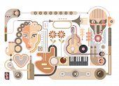 Music - Vector Illustration