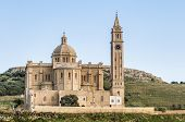picture of gozo  - The National Shrine of the Blessed Virgin of Ta - JPG