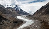 Durung Drung Or Drang Drung Glacier Near Pensi La Pass On Zanskar Road - Great Himalayan Range - Zan
