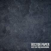 Black paper. Vector ESP10