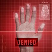 Fingerprint Security - Denied