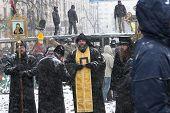 KIEV, UKRAINE - 21 JANUARY