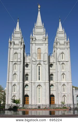 poster of Salt Lake City Mormon Temple