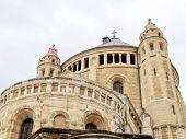 Jerusalem Dormition Abbey In Cloudy Weather 2012