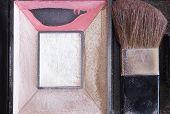 Face powder box