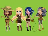 Cute Adventure Girls 2