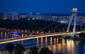 Bridge Snp At Bratislava, Slovakia