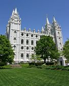 Salt Lake City Mormon Temple