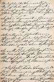 image of handwriting  - vintage handwriting with undefined text - JPG