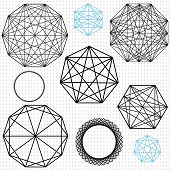 Polygon Geometric Structures