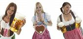 Compilation Of Oktoberfest Waitresses