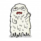 gross cartoon ghost