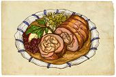Meat Roulade