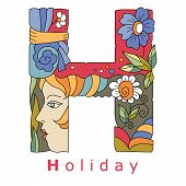 Letter H - Holiday