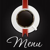 The Concept of Coffeehouse Menu. Vector Illustration
