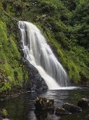Waterfall In Donegal Ireland