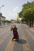 Monk Sule Pagoda
