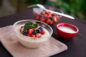 Bircher Muesli With Fruit Salsa