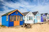 Mudeford Spit Beach Huts