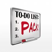 The Word Pack On To-do List Whiteboard