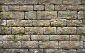 Natural Cotswold Stone Wall