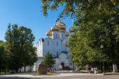 Piously-Uspensky cathedral ,city Yaroslavl