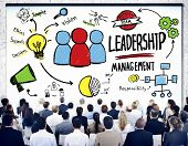 Diversity Business People Leadership Management Seminar Concept