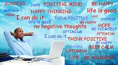 picture of positive thought  - Positive thinking African - JPG