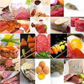 High Protein Food Collection Collage