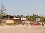 Beach Cafe On The Sand