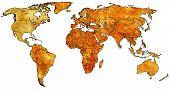 Sri Lanka Territory On World Map