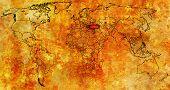 Turkey Territory On World Map