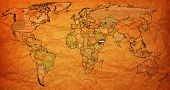 Yemen Territory On World Map